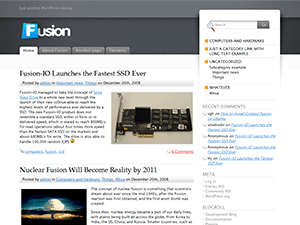wordpress themes Fusion Look Back on the First 365 Days of Zemalf.com