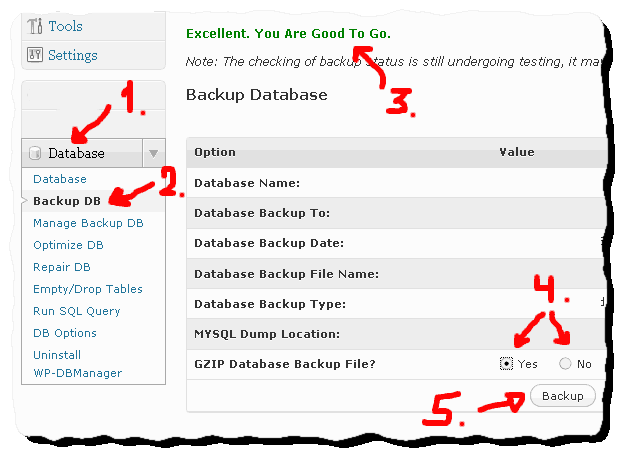 how to backup wordpress database How to automatically backup and optimize WordPress database