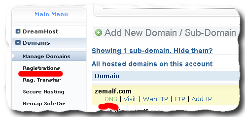 how to update cname record on dreamhost 1 How to create CDN for WordPress with MaxCDN